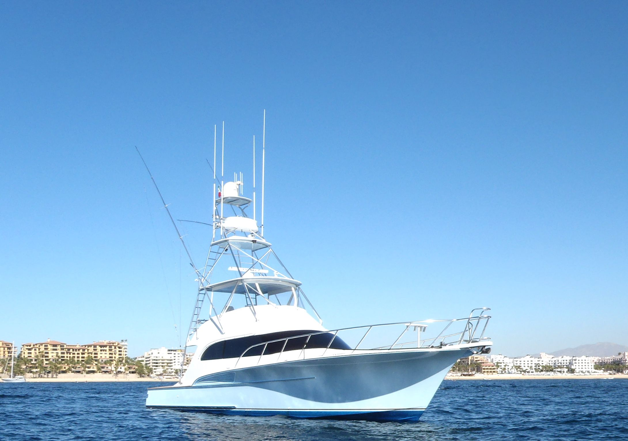 Karma is a Sculley Custom Carolina Sportfisher Yacht For Sale in Cabo San Lucas-0