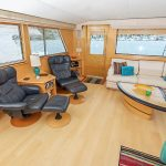 Daydreamer is a Hatteras Cockpit Motor Yacht Yacht For Sale in San Diego-5