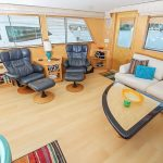 Daydreamer is a Hatteras Cockpit Motor Yacht Yacht For Sale in San Diego-6
