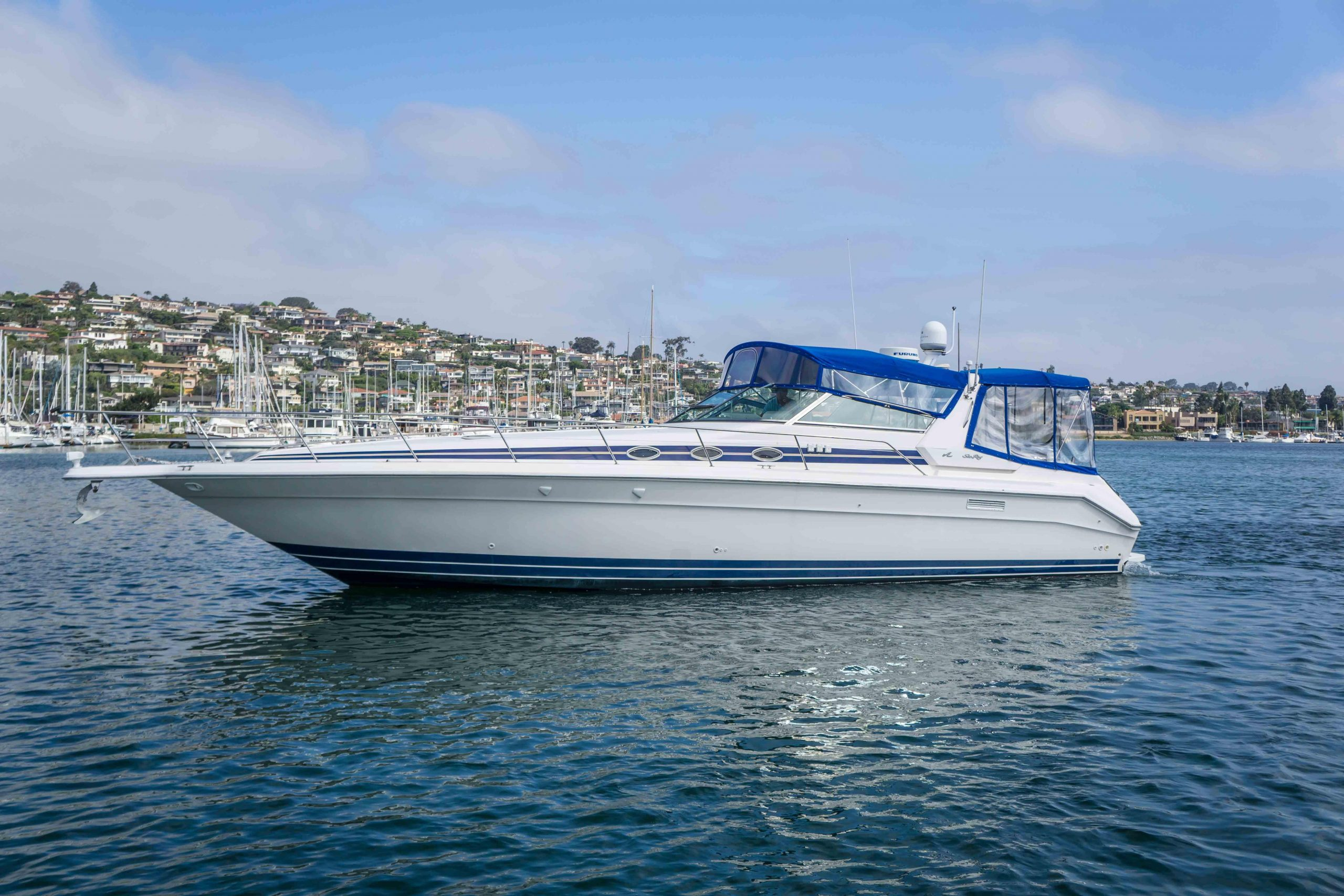 Viva Cruz is a Sea Ray 450 Sundancer Yacht For Sale in San Diego-0