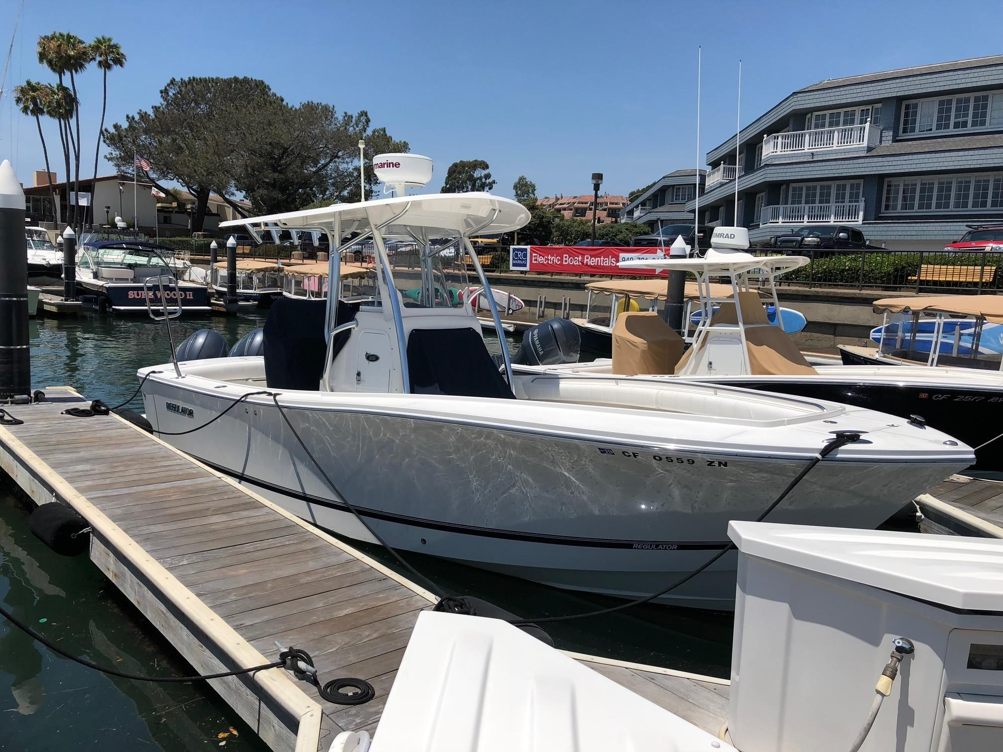 is a Regulator 25 Yacht For Sale in Newport Beach-0