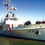Morris is a Custom USCG Steel Cutter Yacht For Sale in Sacramento-1