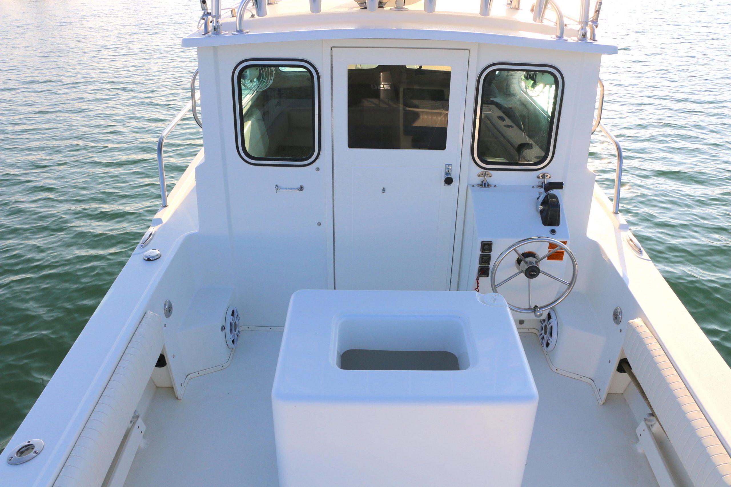 23 ft 2014 Parker 2320 SL Sport Cabin - Kusler Yachts