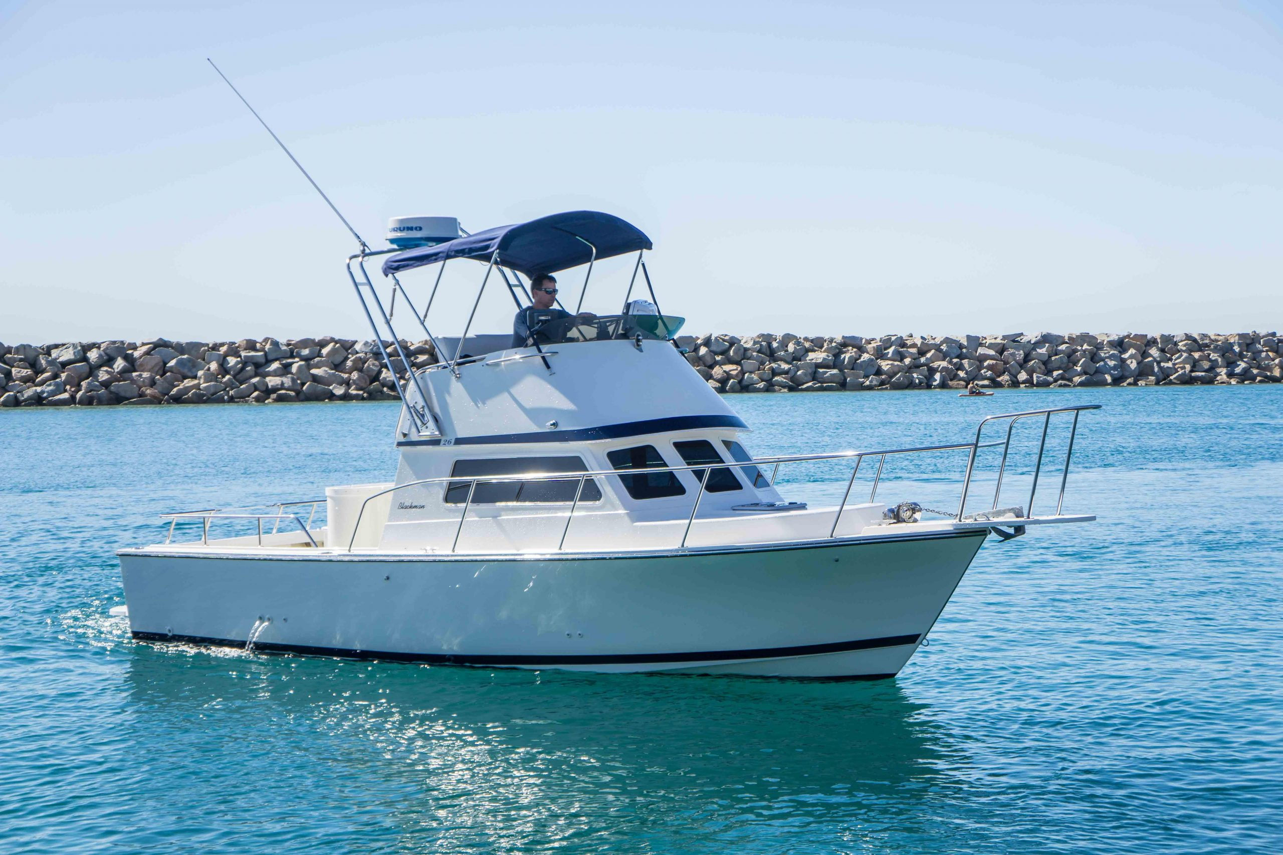 is a Blackman Billfisher 26 Yacht For Sale in San Diego-0