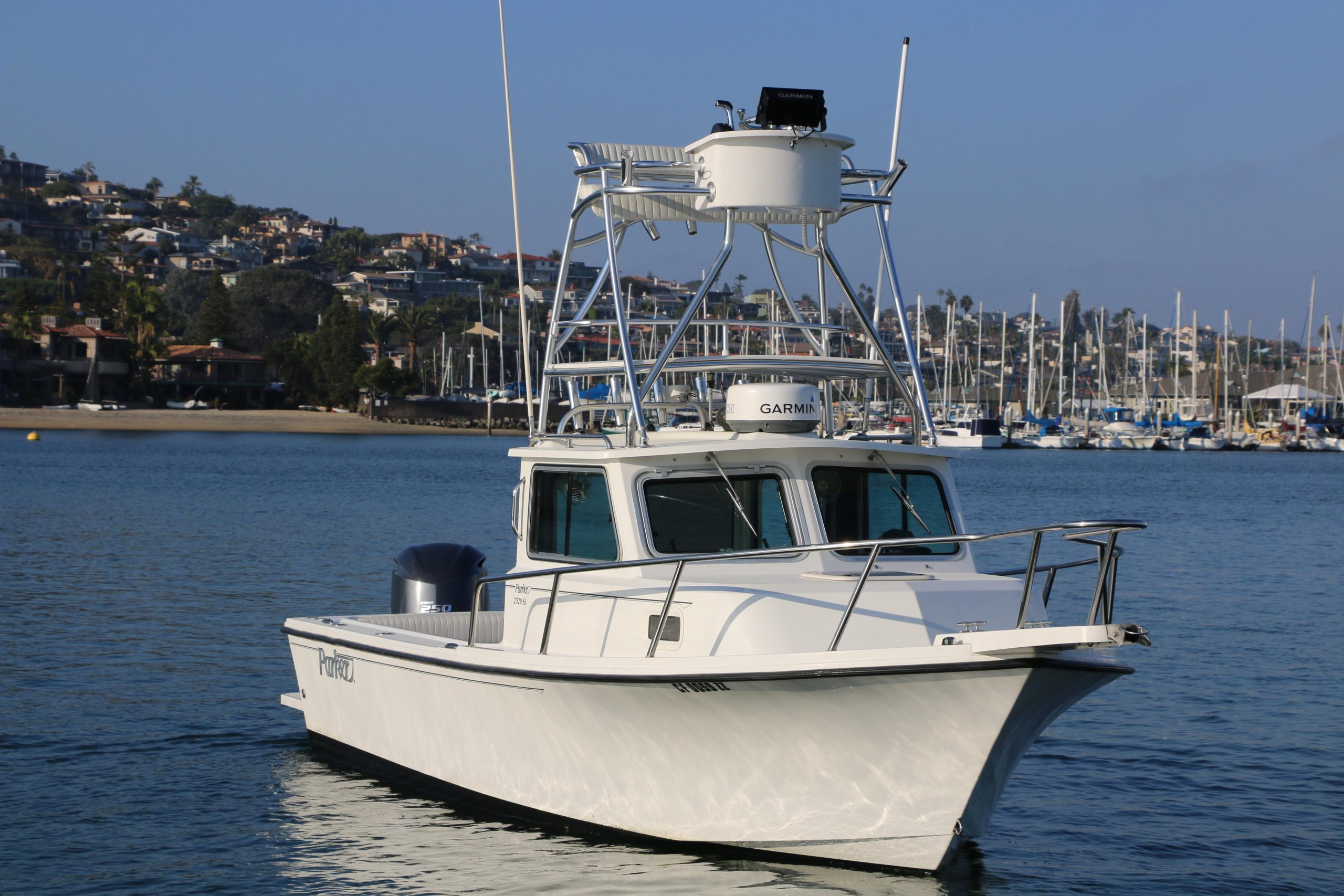 is a Parker 2320 SL Sport Cabin Yacht For Sale in San Diego-0