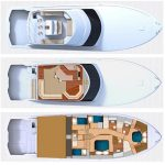 Hatteras GT70 is a Hatteras GT70 Yacht For Sale in Cabo San Lucas-12