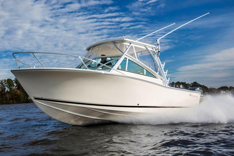 AVAILABLE NOW is a Albemarle 25 Express Yacht For Sale in San Diego-0