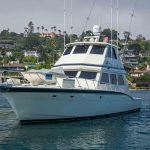 RUNS WILD is a Hatteras Enclosed Bridge Yacht For Sale in San Diego-5