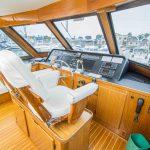 RUNS WILD is a Hatteras Enclosed Bridge Yacht For Sale in San Diego-21