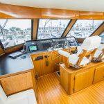 RUNS WILD is a Hatteras Enclosed Bridge Yacht For Sale in San Diego-20