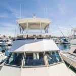 JOINT VENTURE is a Hatteras 46 FlyBridge Yacht For Sale in San Diego-3