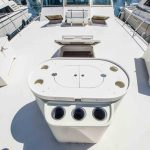JOINT VENTURE is a Hatteras 46 FlyBridge Yacht For Sale in San Diego-4