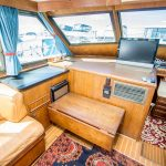 JOINT VENTURE is a Hatteras 46 FlyBridge Yacht For Sale in San Diego-21