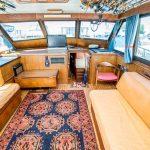 JOINT VENTURE is a Hatteras 46 FlyBridge Yacht For Sale in San Diego-18