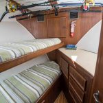 JOINT VENTURE is a Hatteras 46 FlyBridge Yacht For Sale in San Diego-25