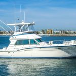 JOINT VENTURE is a Hatteras 46 FlyBridge Yacht For Sale in San Diego-1
