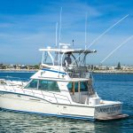 JOINT VENTURE is a Hatteras 46 FlyBridge Yacht For Sale in San Diego-2
