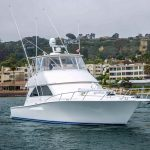 is a Viking Convertible Yacht For Sale in San Diego-36