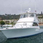 is a Viking Convertible Yacht For Sale in San Diego-37