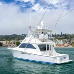 is a Viking Convertible Yacht For Sale in San Diego-39