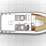 IN STOCK is a Albemarle 25 Express Yacht For Sale in San Diego-31