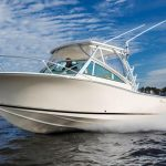 IN STOCK is a Albemarle 25 Express Yacht For Sale in San Diego-20