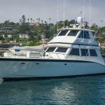 RUNS WILD is a Hatteras Enclosed Bridge Yacht For Sale in San Diego-48