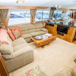 RUNS WILD is a Hatteras Enclosed Bridge Yacht For Sale in San Diego-63