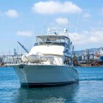 is a Hatteras 58 Convertible Yacht For Sale in Long Beach-49
