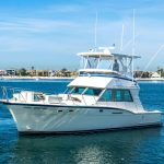 JOINT VENTURE is a Hatteras 46 FlyBridge Yacht For Sale in San Diego-30