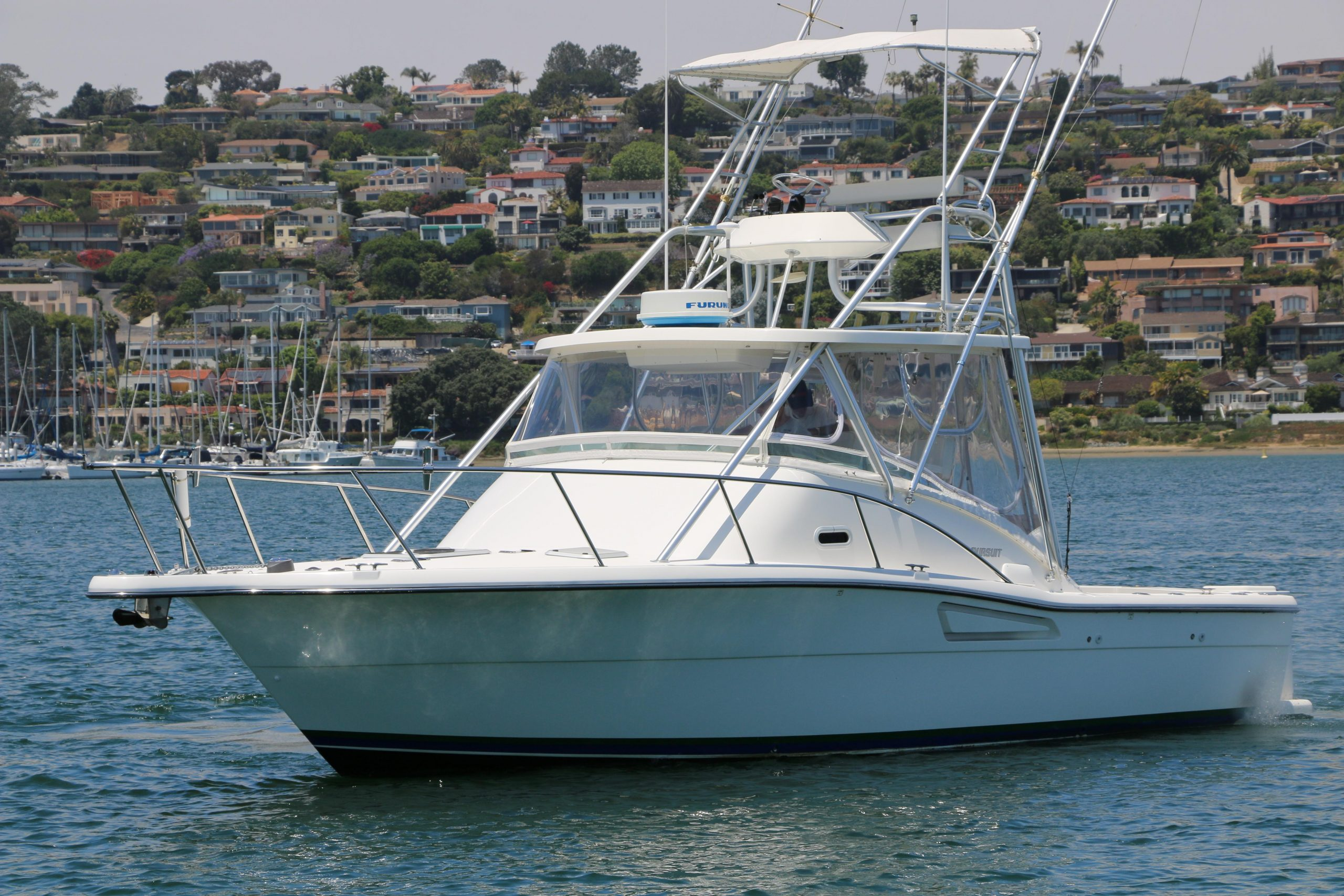 is a Pursuit 3000 Offshore Yacht For Sale in San Diego-0