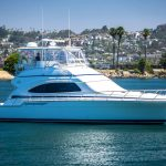 is a Bertram 510 Convertible Yacht For Sale in San Diego-3