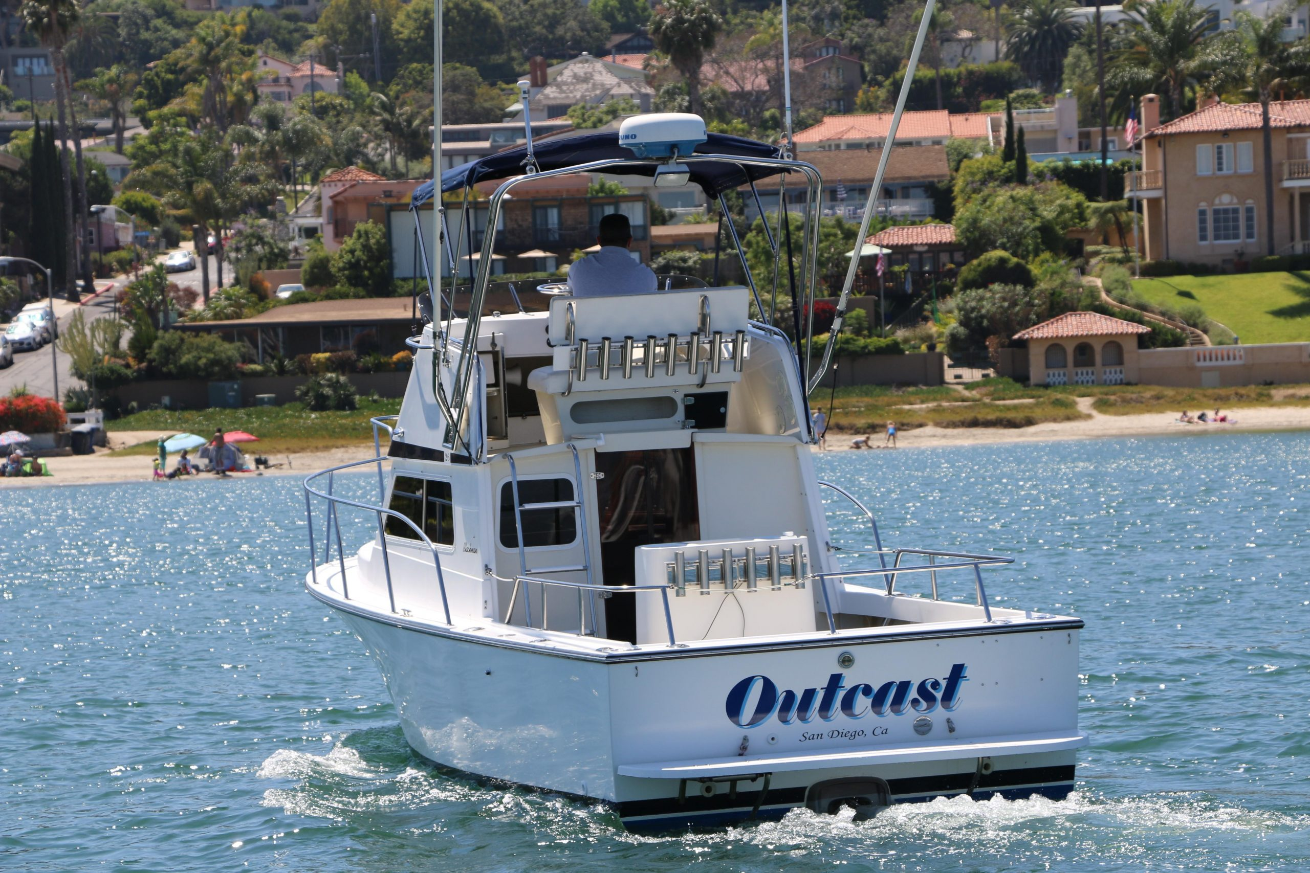 Outcast is a Blackman Billfisher Yacht For Sale in San Diego-0