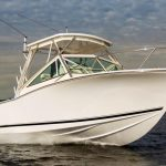 AVAILABLE NOW is a Albemarle 25 Express Yacht For Sale in San Diego-20