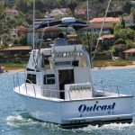 Outcast is a Blackman Billfisher 26 Yacht For Sale in San Diego-1