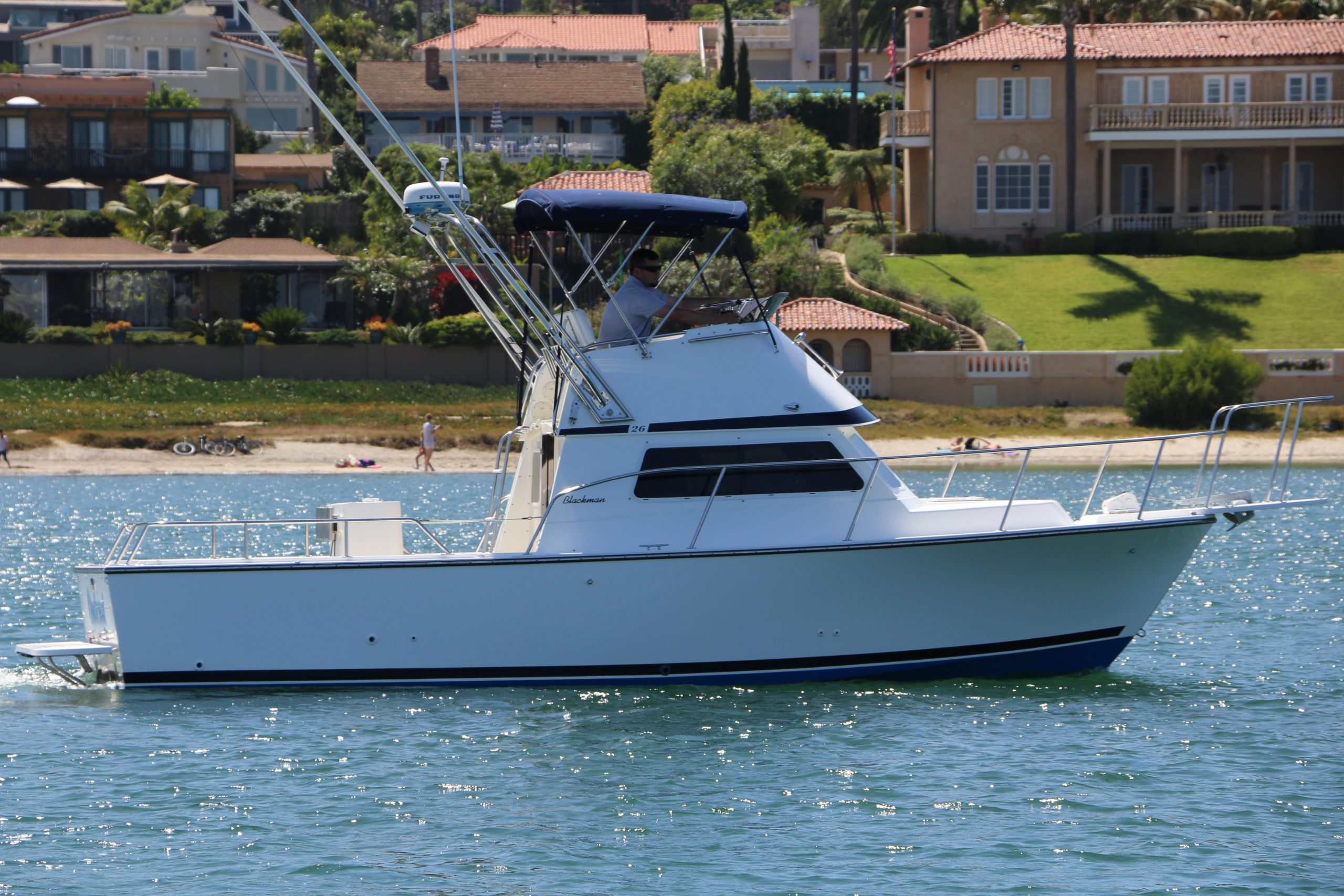 Outcast is a Blackman Billfisher 26 Yacht For Sale in San Diego-0
