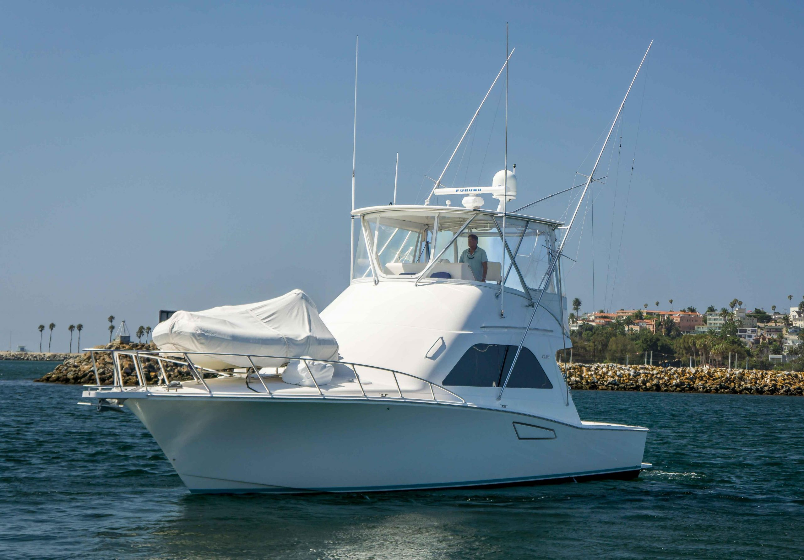 Aqua Vitae is a Cabo 43 Yacht For Sale in San Pedro-0