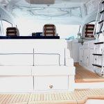 is a Hatteras GT45X Flybridge Yacht For Sale in San Diego-4