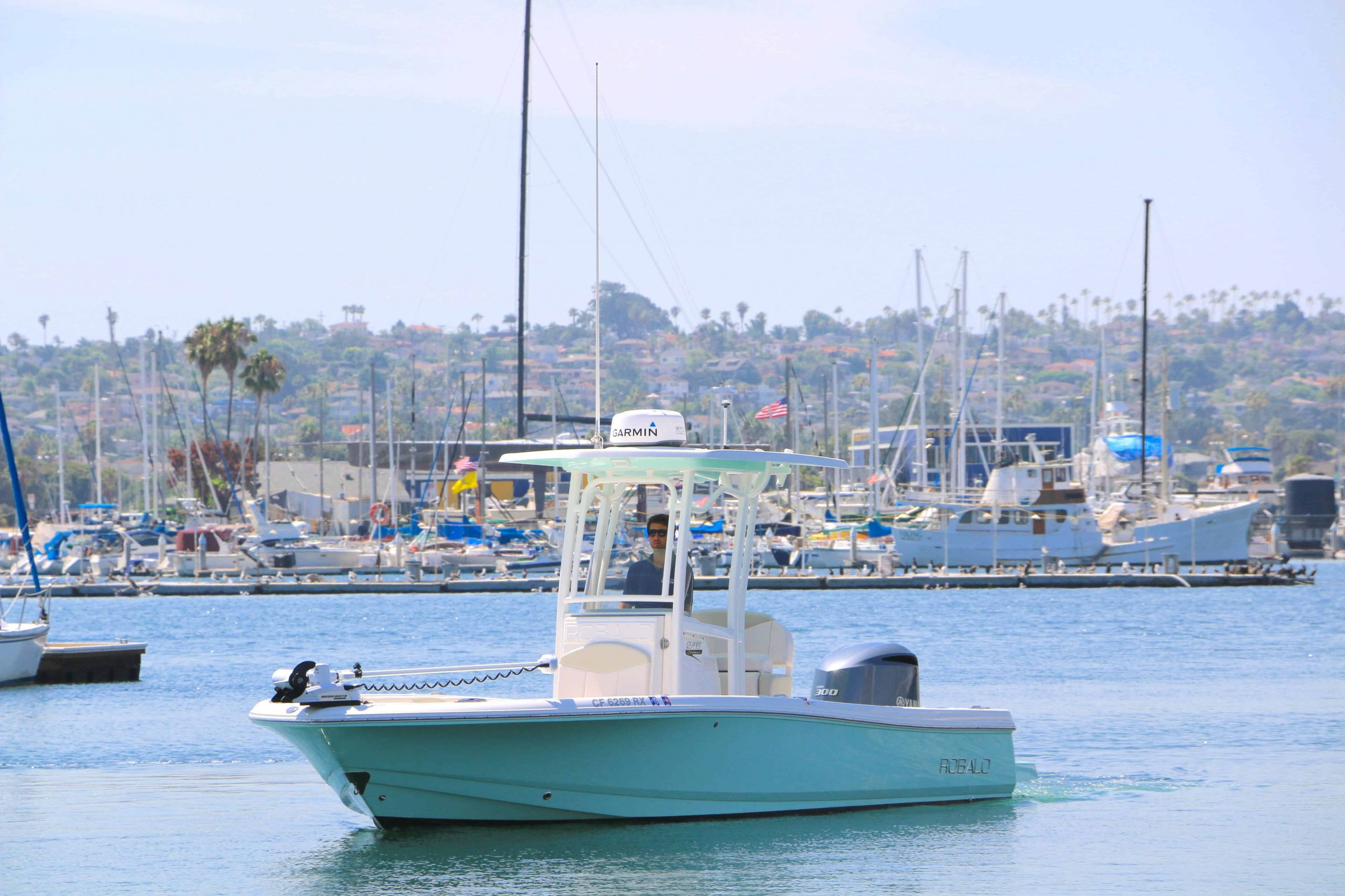 Game Dog is a Robalo 246 Cayman Yacht For Sale in San Diego-0