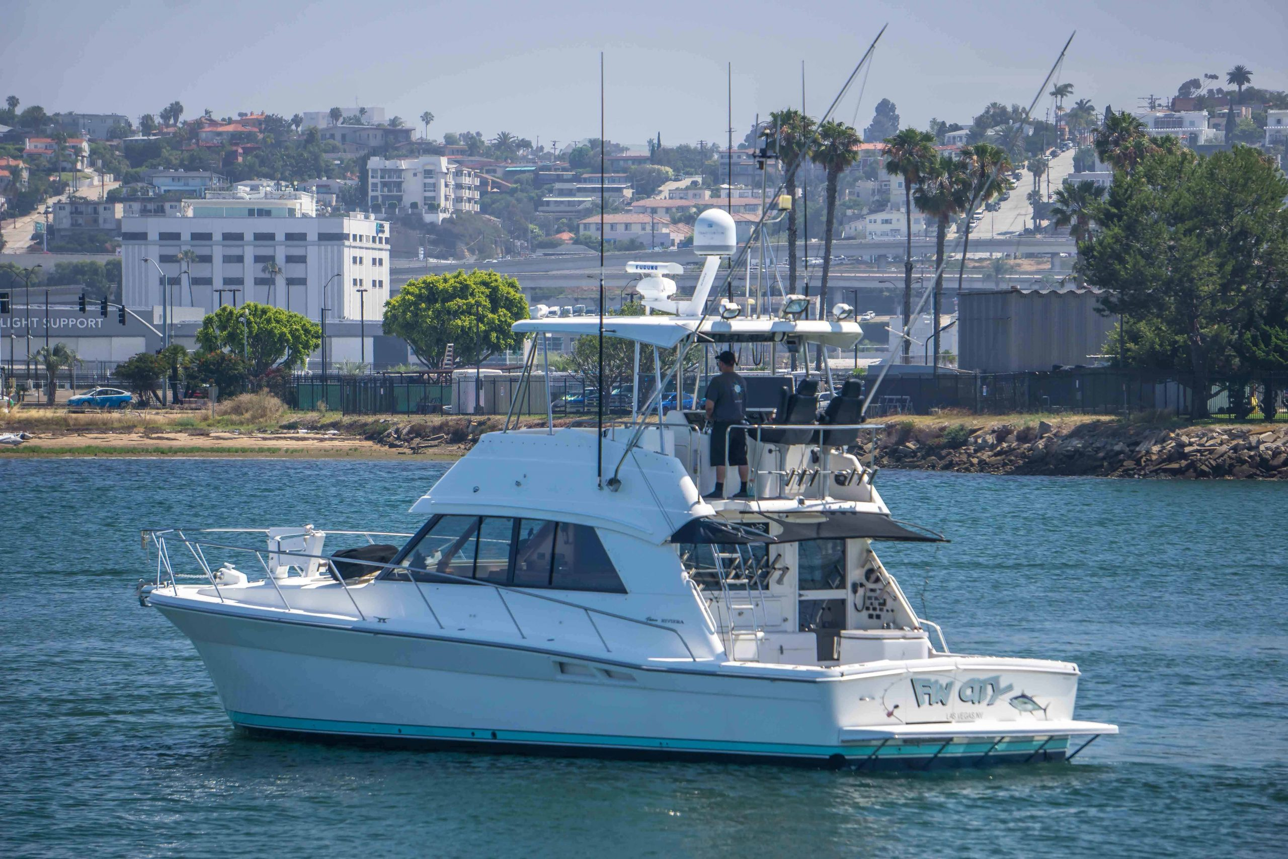 is a Riviera 43 Convertible Yacht For Sale in San Diego-0