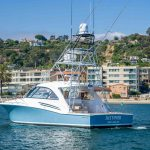 JUSTIFIED is a Hatteras 45 Express Sportfish Yacht For Sale in San Diego-2