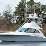is a Hatteras GT45X Flybridge Yacht For Sale in San Diego-16