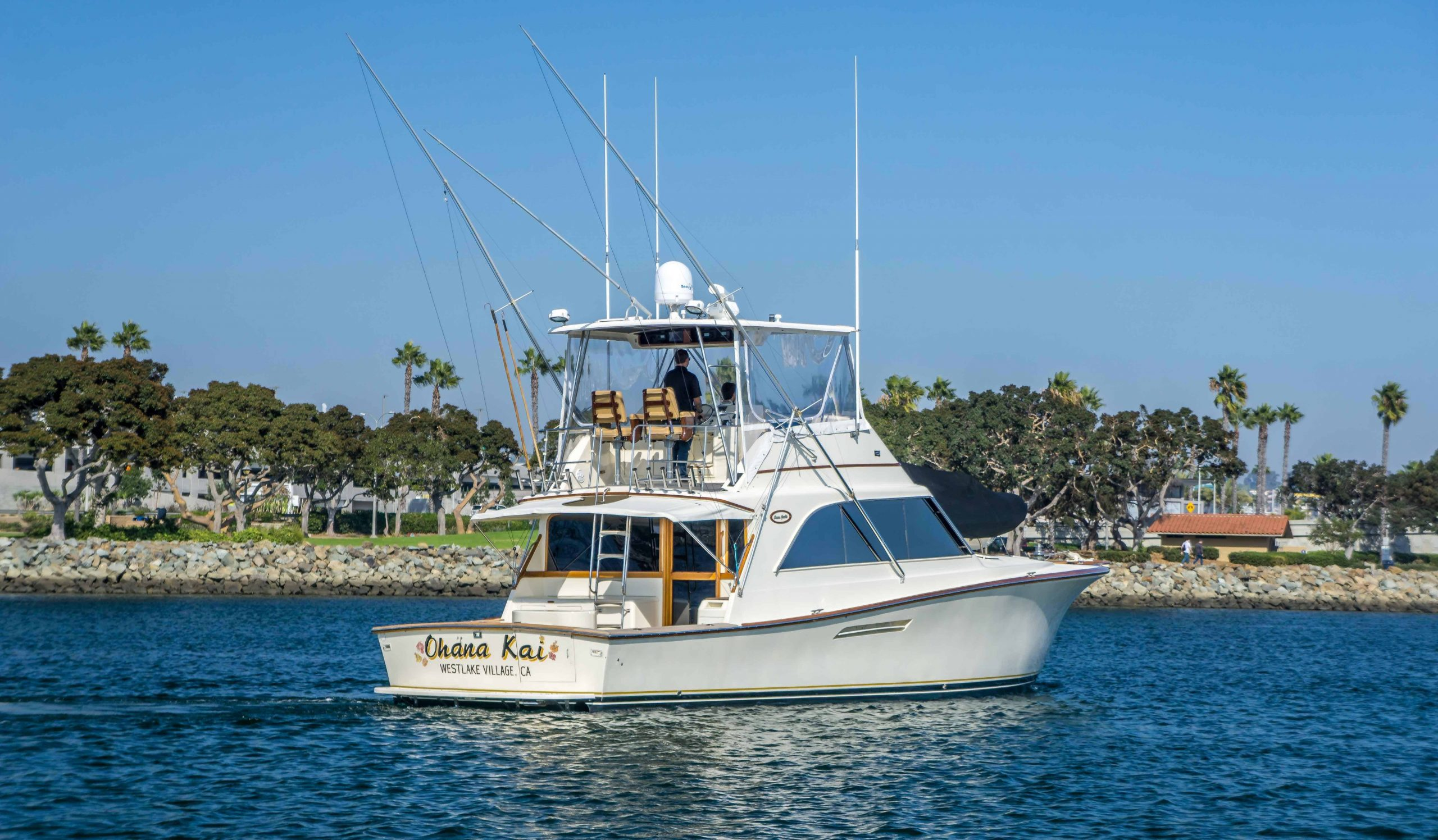 is a Ocean Yachts Super Sport Yacht For Sale in San Diego-0