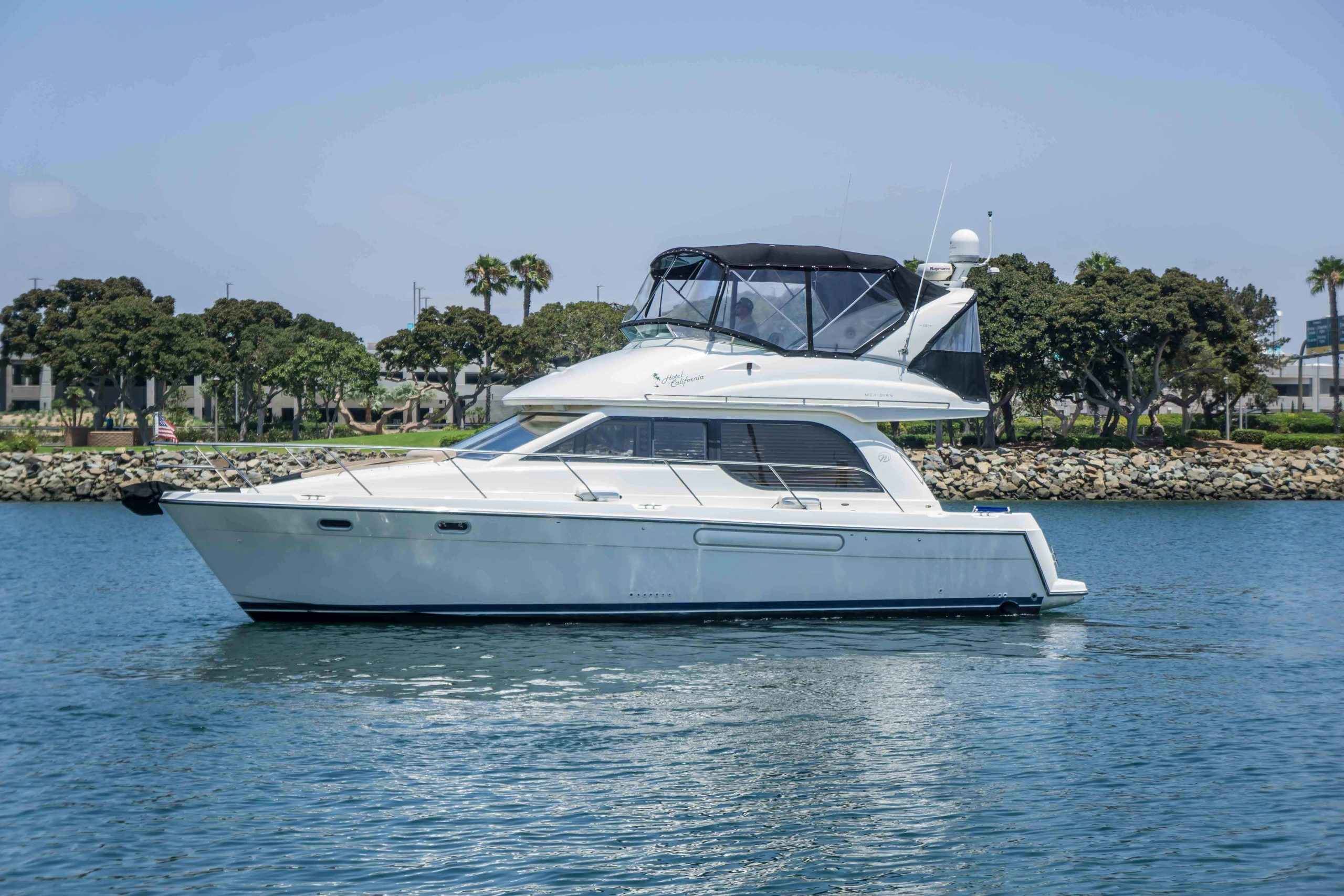 is a Meridian 381 Sedan Yacht For Sale in San Diego-0