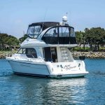 is a Meridian 381 Sedan Yacht For Sale in San Diego-3
