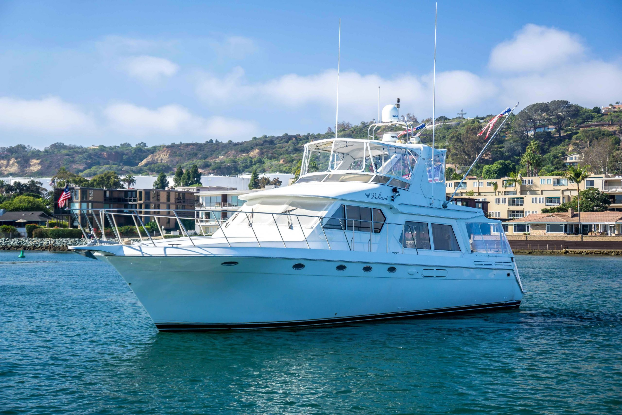 VALIANT is a Navigator 53 pilothouse Yacht For Sale in San Diego-0