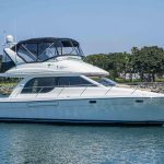 is a Meridian 381 Sedan Yacht For Sale in San Diego-29