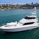 ENTOURAGE is a Hatteras 65 Convertible Yacht For Sale in Newport Beach-36