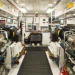 Hatteras 105 Raised Pilothouse Engine Room