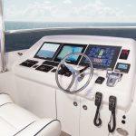 Hatteras 105 Raised Pilothouse Helm